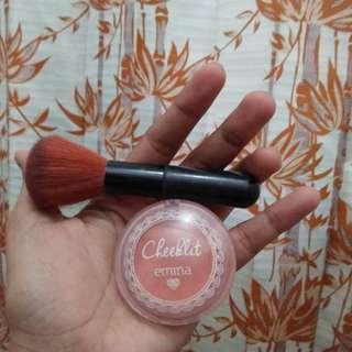 H06 Blush on Emina+Brush