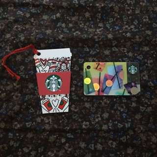 Starbucks Card and Mini Set
