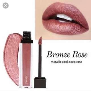 Jouer bronze rose metallic liquid lipstick