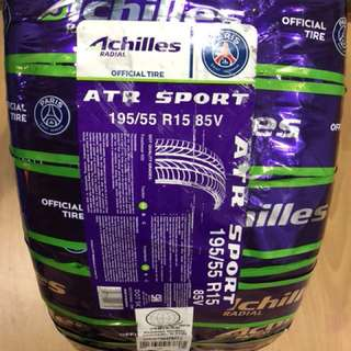 Achilles ATR Sport 195 55 r15 brand new 1pc only