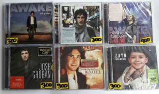 Josh Groban Zayn Justin Bieber Don Moen 2pac Frank Sinatra Craig David CD Album