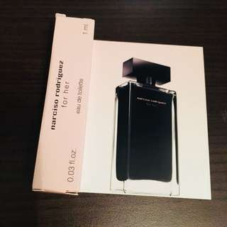 ✨NARCISO RODRIGUEZ for her Eau de Toilette Spray 1ml