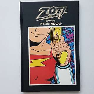 Eclipse Comics  Zot Book 1 Signed and Numbered 75 of 450 Copies Scott McCloud  Rare