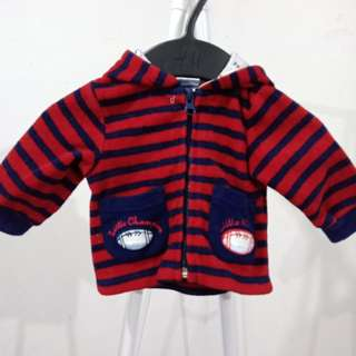 Red/blue stripes jacket