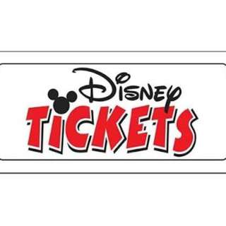 Hongkong Disneyland Ticket