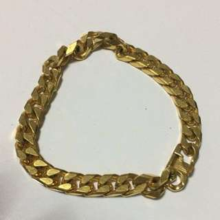 Gold Chain Bracelet - Stainless