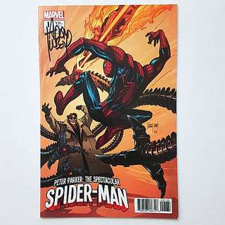 Marvel Comics Peter Parker The Spectacular Spider-Man 1 Signed by Adam Kubert