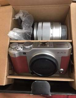 Kamera fujifilm Xa3 kit 16-50mm