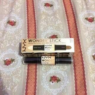 NYX wonder stick highlight and contour