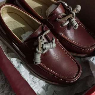 Gibi topsider brown shoes size 29