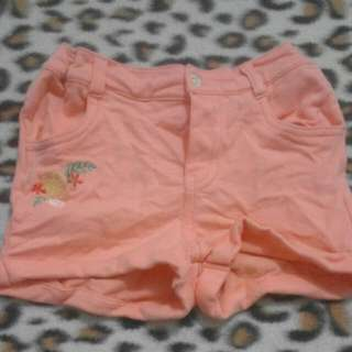 Girl short pant
