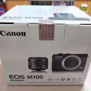 Canon EOS M100(全新),高雄面交