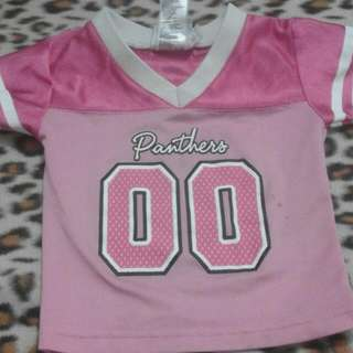 girl jersey pink