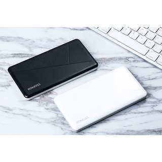 Romoss PIE 10 Mosaic Slim 10000 mah Powerbank BLACK or WHITE