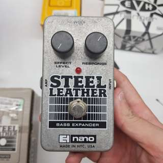 EHX Steel Leather