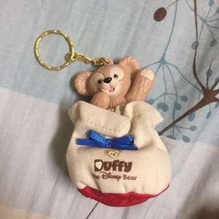 🚚 達菲熊鑰匙圈