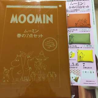 Moomin pouches and cards