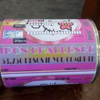 Alkansya Ipon Challenge