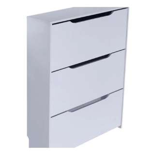 White Shoe Cabinet Brand New Fully Assembled