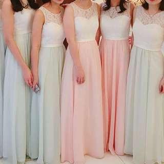 雪紡姊妹裙 伴娘裙