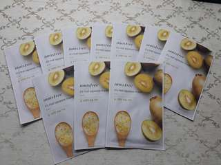 Innisfree Real Squeeze Kiwi Face Mask