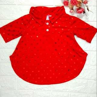 Blouse - kids blouse cendawan