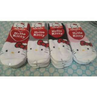 HELLO KITTY FUR FACE ICONIC SOCKS