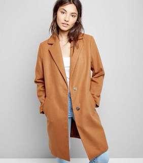 New look tan coat