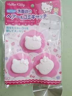 Hello Kitty Wash Basin Drain Filter with Cover.