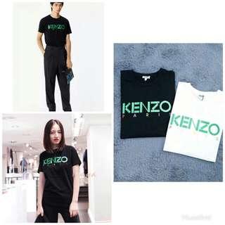 Kenzo  18年春夏情侶款圓領T恤