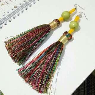 Colorfull Tassel Earrings