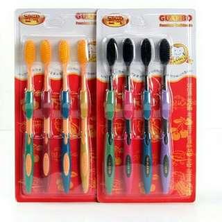 GUANBO Nano-charcoal toothbrush