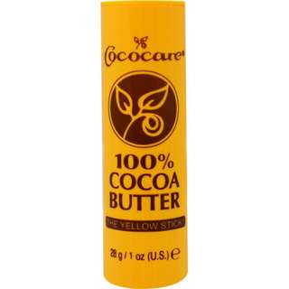 Cococare 100% cocoa butter The Yellow Stick