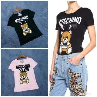 Moschino & Playboy  圓領T恤