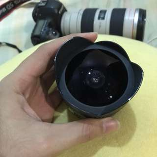 Sigma Fisheye lens 15mm CANON