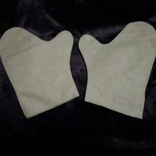 Disposable Cotton Spa Hand Gloves
