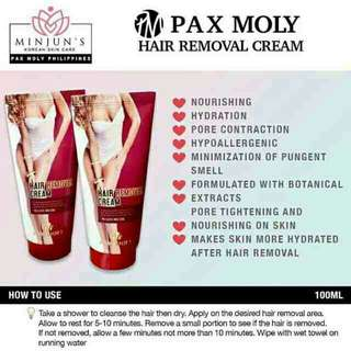 Pax Moly Hair removal cream
