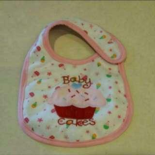 Carter's Baby Girl Bib