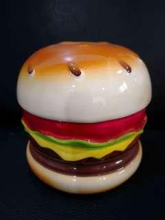 Hamburger Money Box Coin Bank