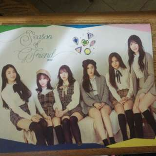 [INSTOCK]GFRIEND SEASON GREETINGS CALENDAR(UNSEALED)