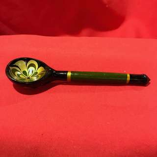 Collectible Painted wooden spoon