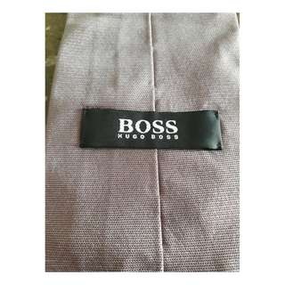 HUGO BOSS silk tie in light purple