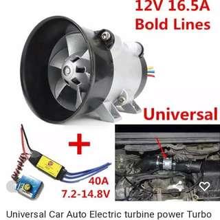 Car tubor power