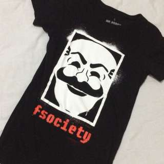 Mr. Robot Fsociety shirt