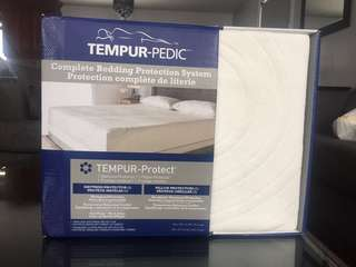 Brand New Tempur-Pedic Mattress & Pillow Protector