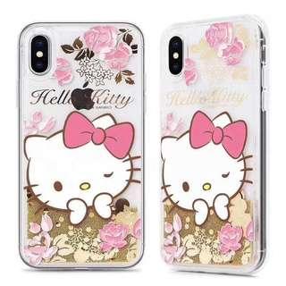 2018年原裝正版SANRIO 流沙手機殼 (Hello Kitty)