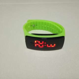 Digital wristwatch/ led watch
