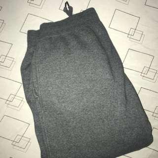 Uniqlo dark gray jogger pants