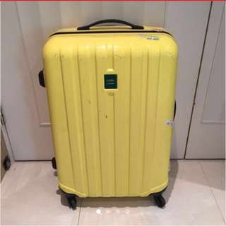 Lojel liner cream light yellow suitcase luggage