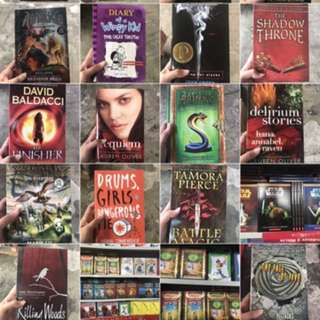 Young Adult Books!!!